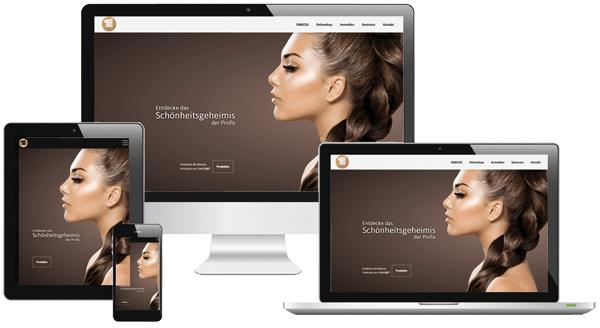 WooCommerce Onlineshop Kosmetik und Beauty - individuelles Webdesign