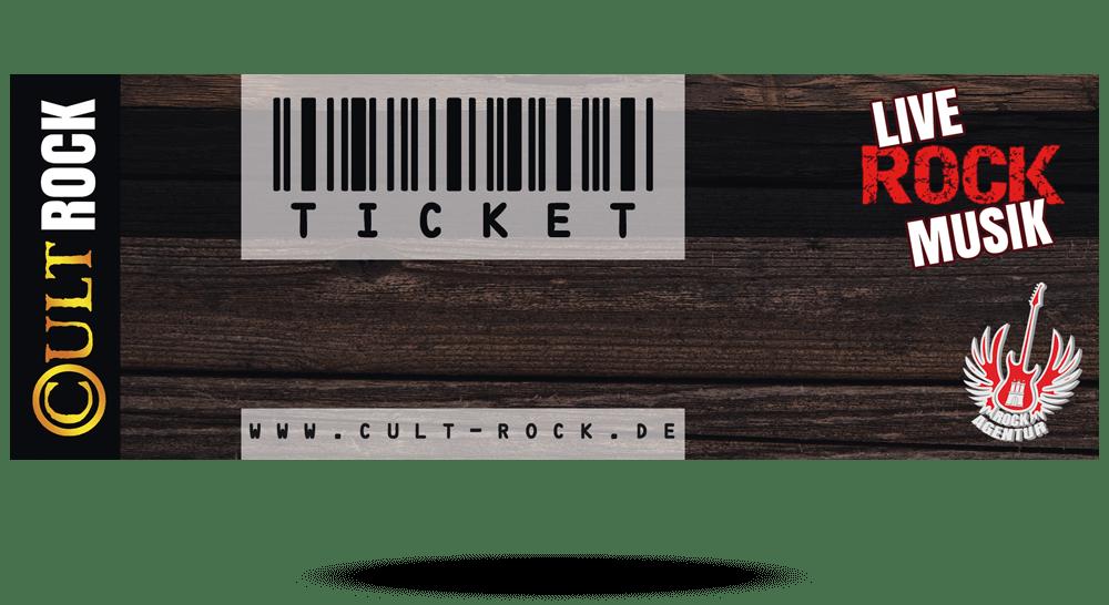 Printmedien - Eintrittskarte Konzert Hamburg