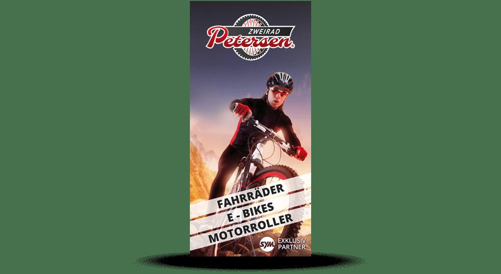 Deckblatt - Fahrrad-Mechaniker Flyer