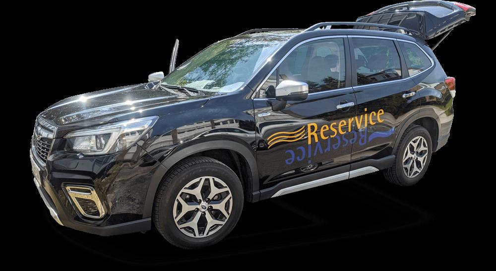 SUV - Beschriftet per Folie mit Direktdruck