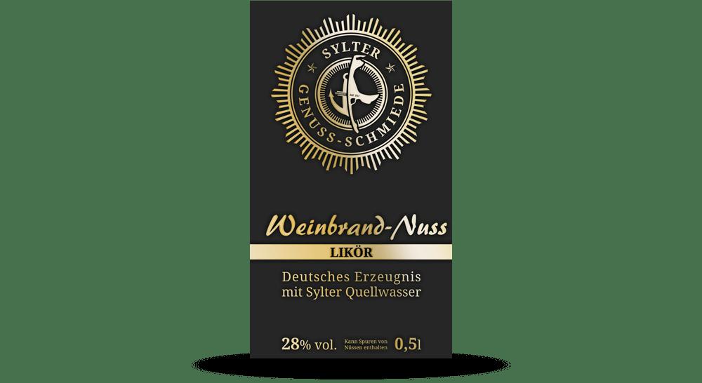 Flaschen-Etiketten für die Sylter Genuss-Schmiede