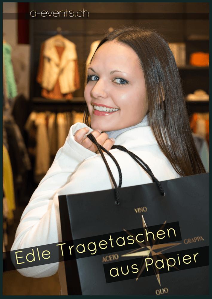 Flyer DIN A5 a-events.ch Grafik und Foto - Vorderseite