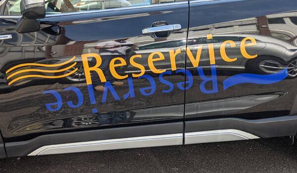 SUV-Autofolierung - linke Seite