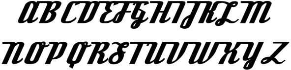Download - Free Font Deftone Stylus