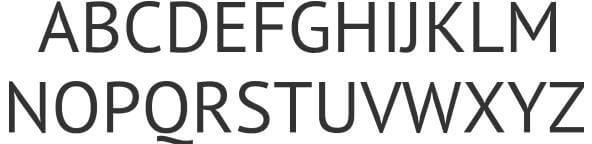 Download - Free Font PT Sans