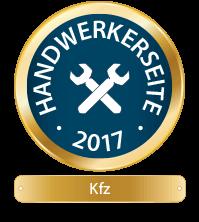 Handwerkerseite des Jahres - KFZ