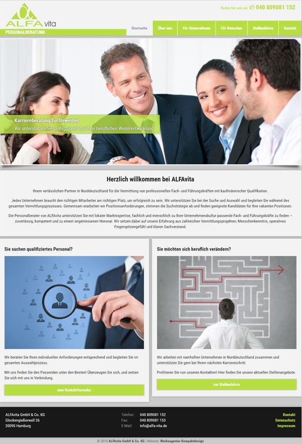 Wordpress websites f r personalvermittler und firmen for Design firmen deutschland