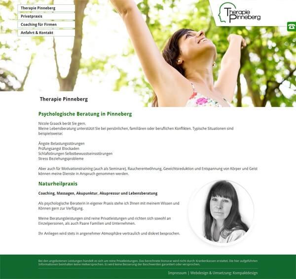 Homepage der Heilpraktik Praxis