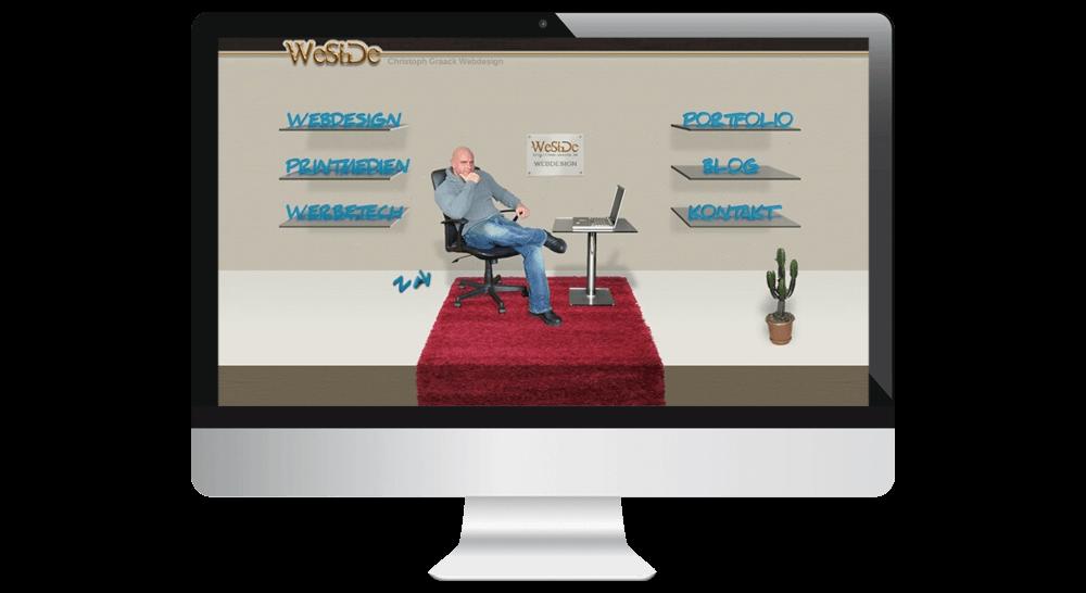 Webdesigner WeSide Webdesign Hamburg