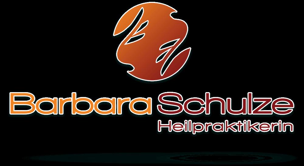 Logodesign Heilpraktikerin - Orange-Rot-Mix