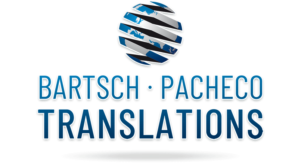 Logodesign Übersetzungsbüro Bartsch Pacheco