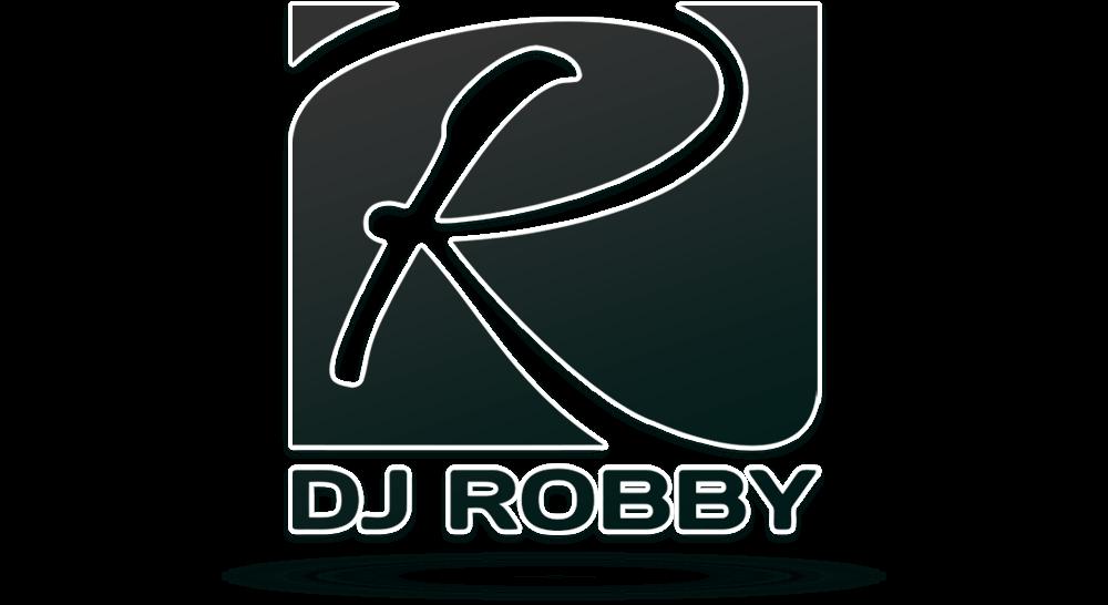 DJ-Logo einfarbige Umsetzung
