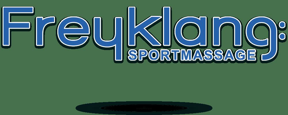 Logodesign Freyklang Sportmassage Halstenbek