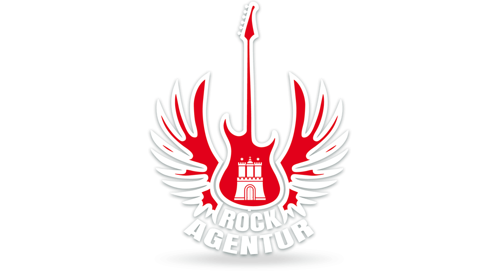 Logodesign - Erstellung von Logo für die Rockagentur in der Classic-Ausführung