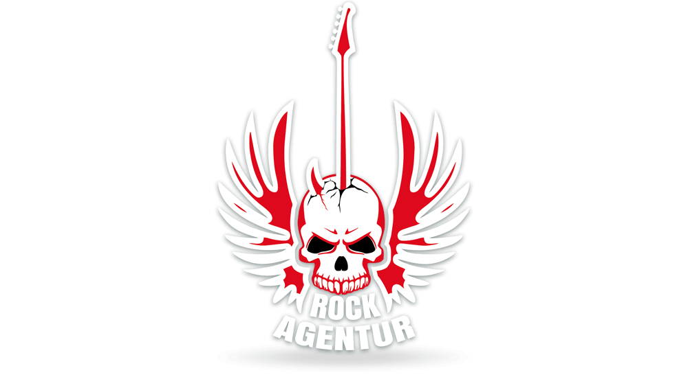 Logodesign der Rockagentur für den Hard Rock und Metal-Bereich