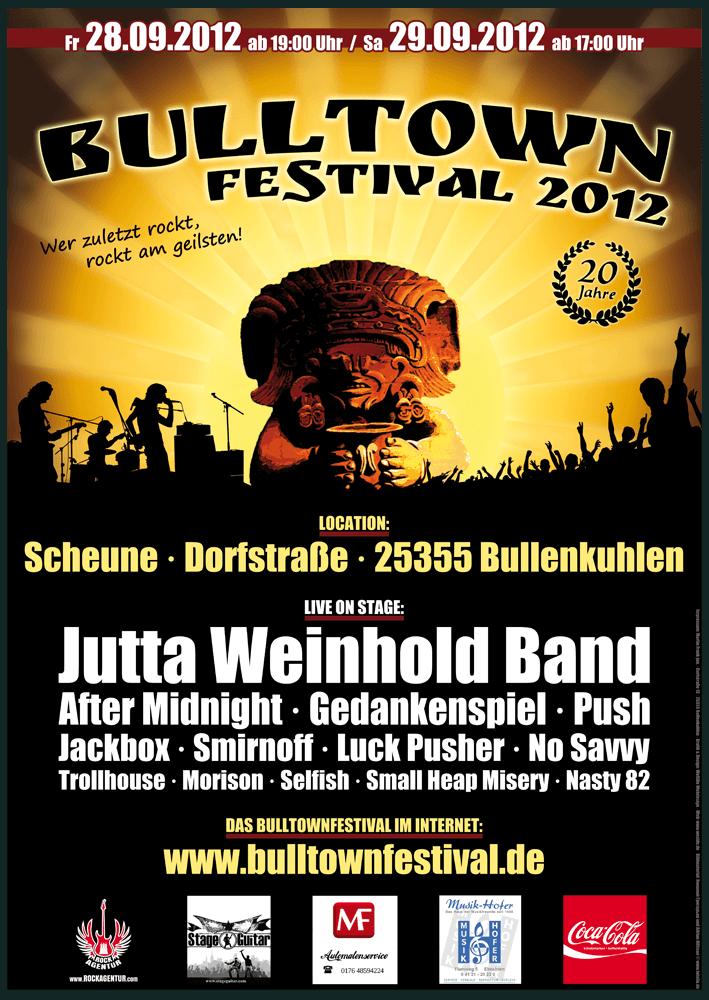 Plakat Bulltown Festival 2012