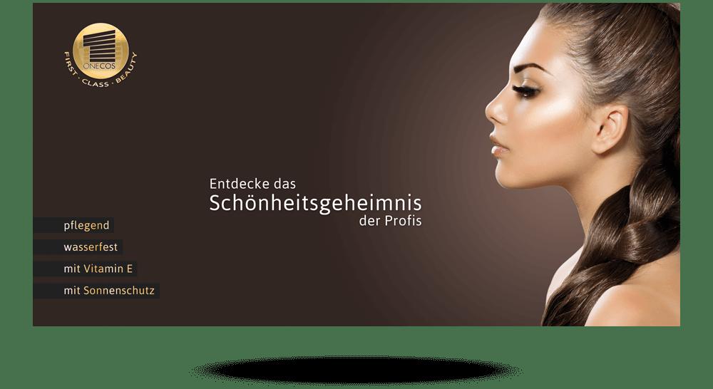 Produkt-Faltblatt von Kosmetik-Hersteller