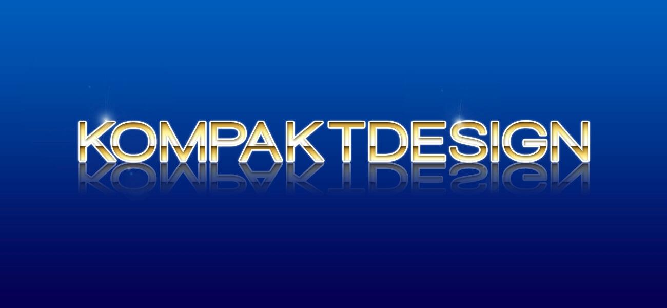 PSD - Schrift in Goldoptik