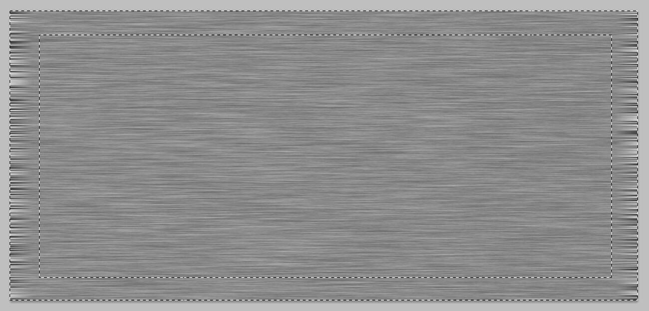 PSD - Schrift in Metalloptik