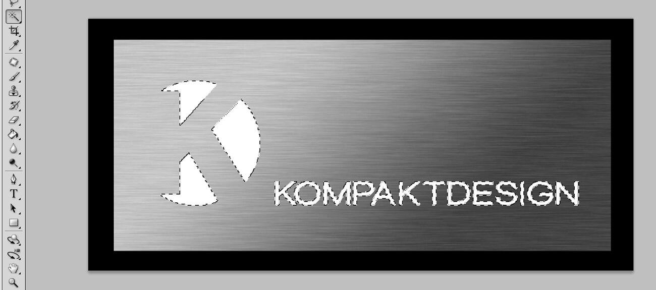 Metalleffekt mit Photoshop erstellen - PSD Tutorial