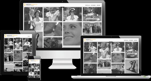 Responsive Webdesign Fotografin Hamburg