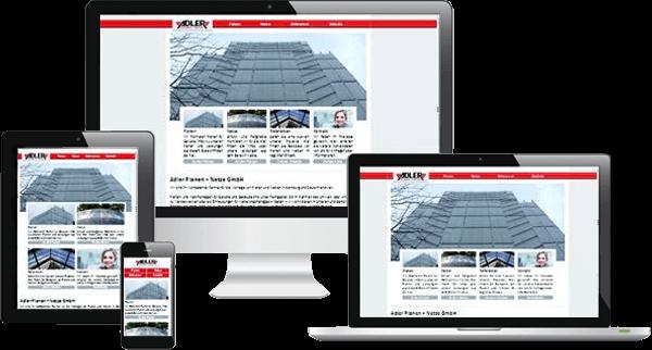 Responsive Webdesign - Adler Planen+Netze Hamburg