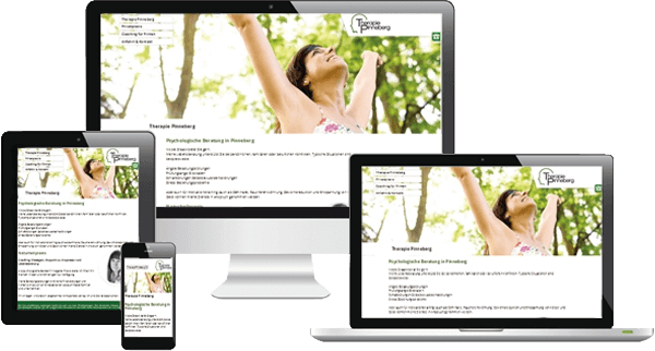 Heilpraktik Pinneberg - Responsive Webdesign