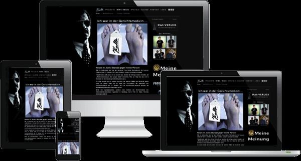 Responsive Website - Kalle Schwensen Hamburg