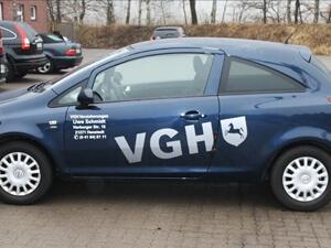 Autobeschriftung PKW Versicherung Hamburg