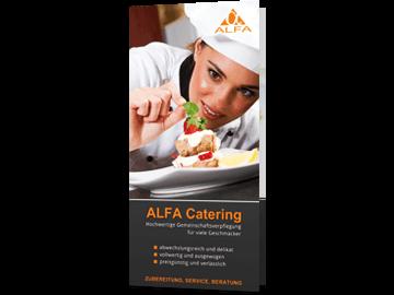 Broschüre für Catering-Service - 6-Teilig
