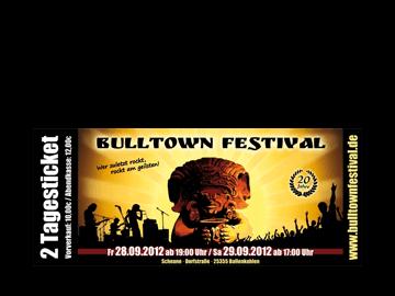 Eintrittskarte - Festival Bullenkulen