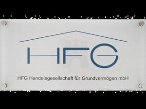 Firmenschild Vermögensverwaltung Hamburg