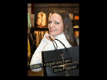Flyer Taschenhersteller Schweiz