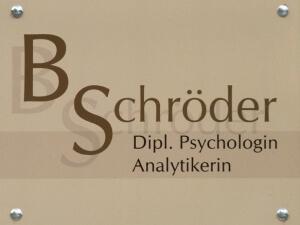 Geschäftsschild Psychologin Hamburg - Werbetechnik