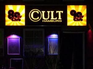 Leuchtschild Discothek Hamburg