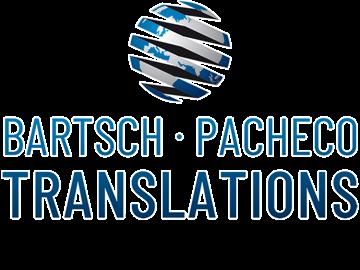 Zweifarbiges Logodesign mit Globus-Piktogramm