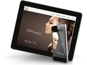 Webdesign - Onlineshop Kosmetik Beauty