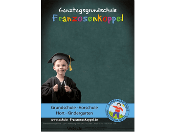 Plakat Grundschule Hamburg