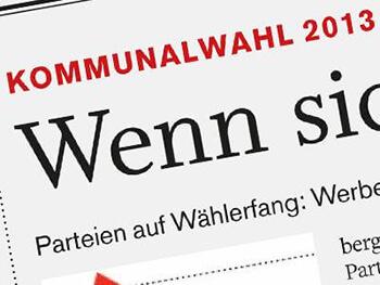 Kommunalwahl 2013