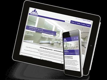 Website für Reinigungs-Firma in Pinneberg