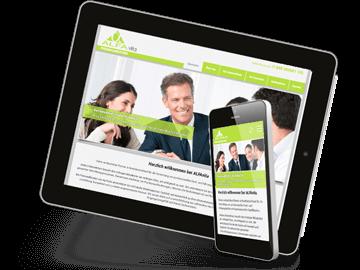 Website für Personalvermittlung in Hamburg