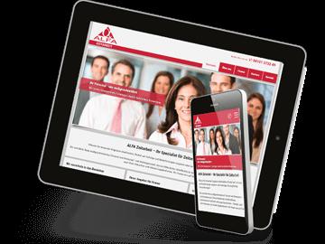 Website für Zeitarbeits-Firma in Pinneberg
