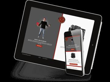 Mobiloptimiertes Webdesign - Veranstaltungsservice Oering