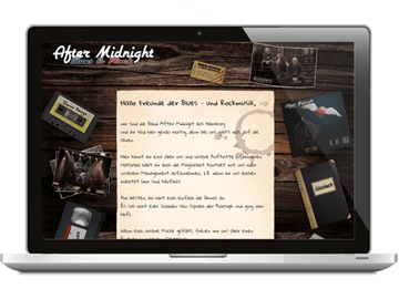 Website Bluesrockband Hamburg
