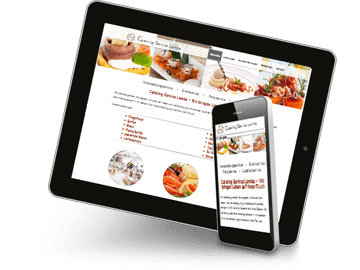 Website Catering Service Hamburg
