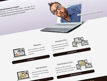 Webdesign zum Festpreis