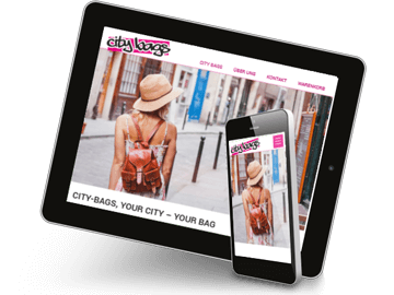 Webshop für den Handel mit Handtaschen
