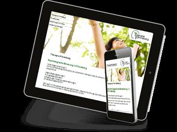 Mobileoptimierte Website Heilpraktik Pinneberg