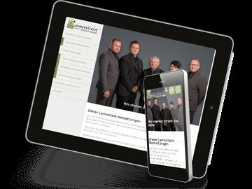 Webentwicklung - Bestattungs-Unternehmen