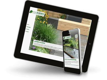 Responsive Webdesign Landschaftsarchitektin Appen